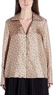 FENDI Luxury Fashion Womens FS7246A9DRF19EK Beige Blouse |