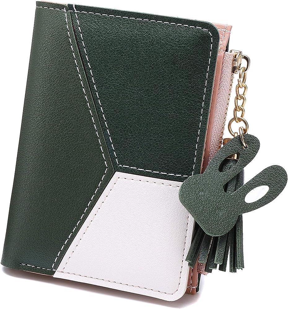 Joseko portafoglio porta carte di credito da donna piccolo in pelle sintetica JOSEKOukpursemall3926