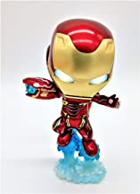 Iron Man/Iron Man Figure, Mark 50 with Sonic Blaster in Avengers - Flight and Battle Mode (Batteries Included)