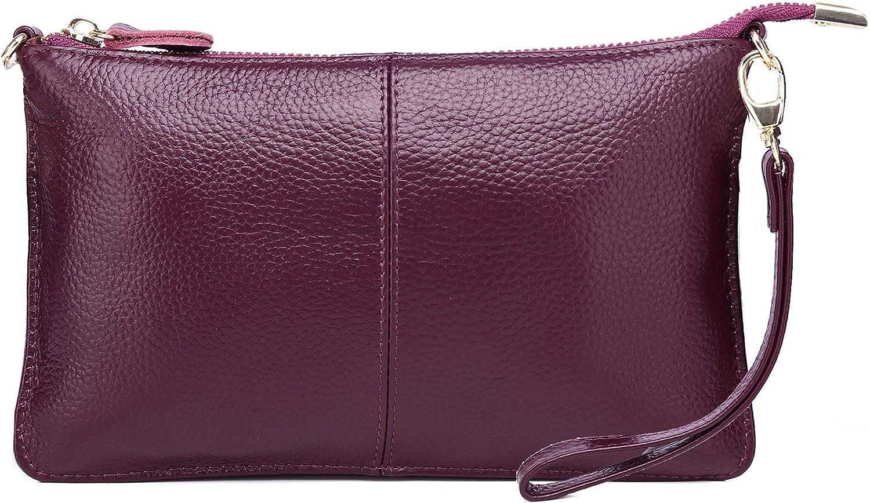 ASDSSRY Women Genuine Leather Wristlet Clutch Louisville-Jefferson County Mall New product Purses Wallet Ladi