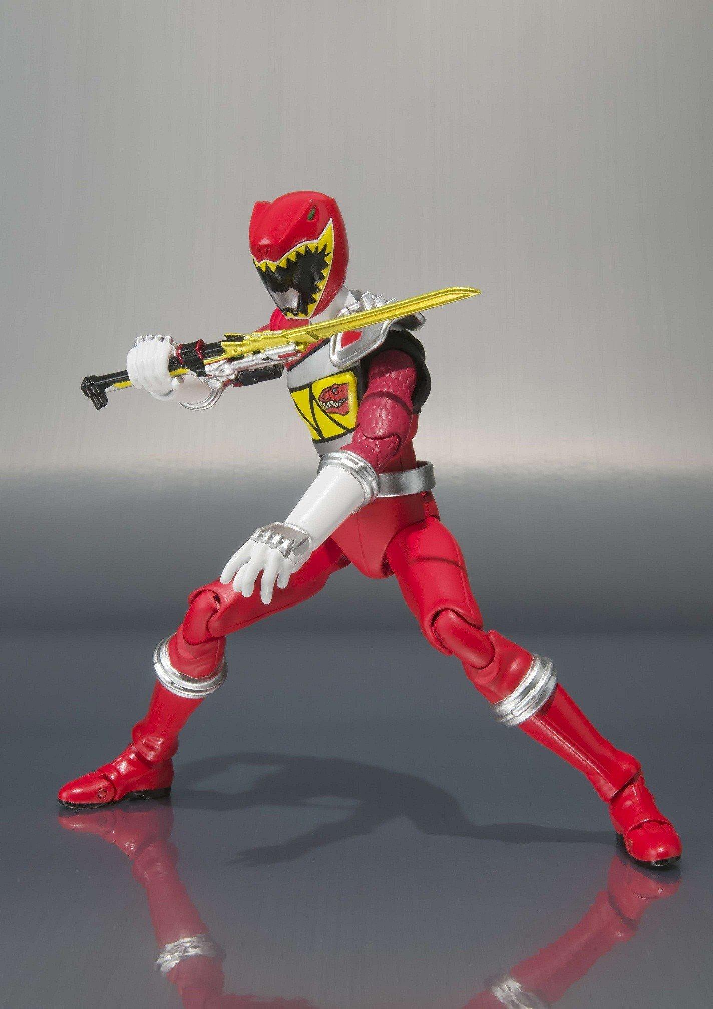 S.H Figuarts Zyuden Sentai Kyoryuger KYORYU RED power ranger Dino Super charge