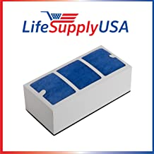 LifeSupplyUSA Replacement HEPA Filter Compatible with Surround Air Multi Tech XJ-3000 Series Air Purifier