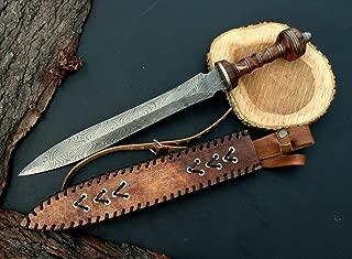 MOUNTAINFORGE Custom Damascus Steel Greek DOLCH/Sword/Dagger/GLADIOUS Sword 23