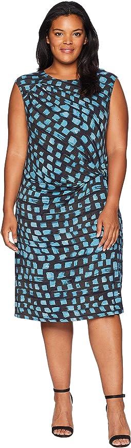 Plus Size Vivid Twist Dress
