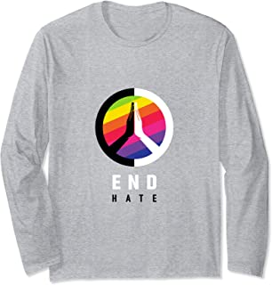 End Hate - JVY Creations Long Sleeve T-Shirt