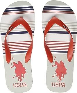 US Polo Association Men's Sunny Flip Flops Thong Sandals