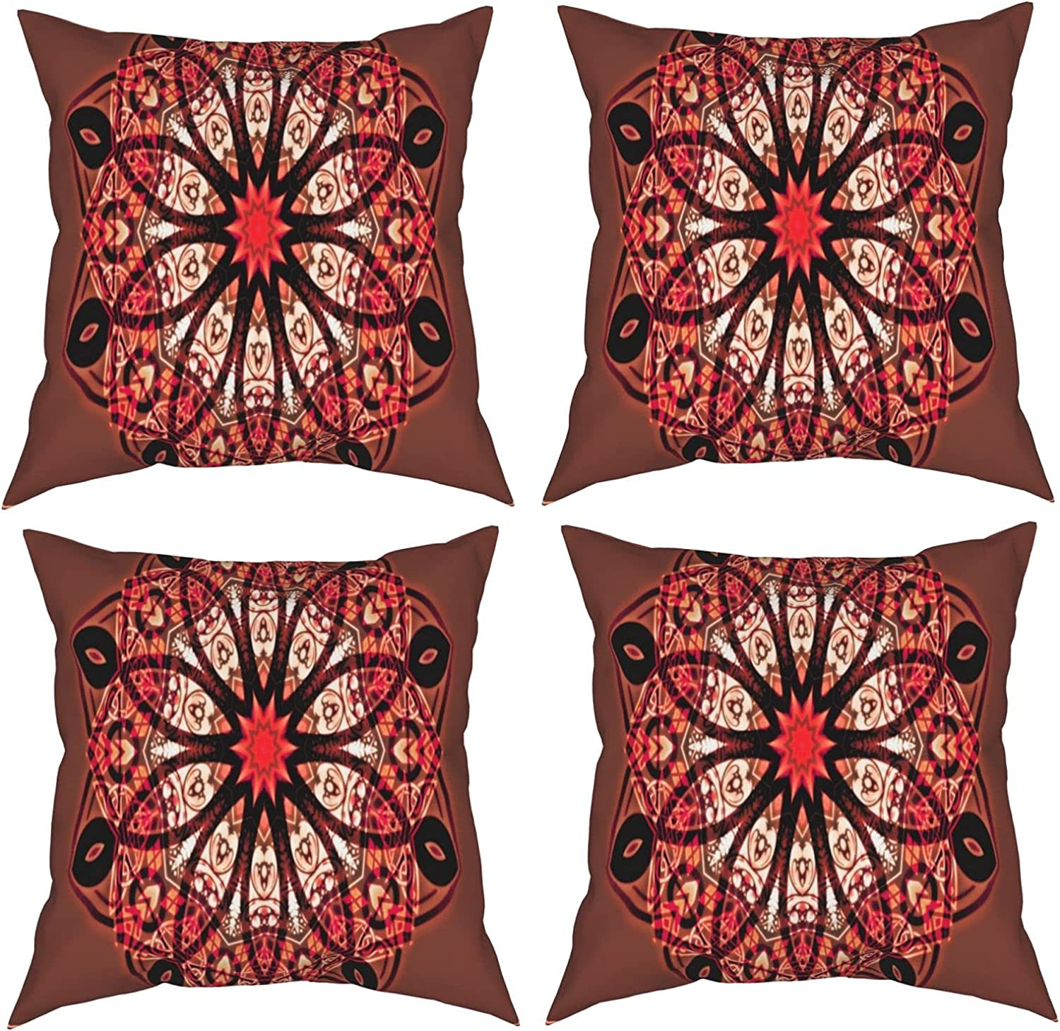 Yuracan 35% OFF Mandala Square Pillow Case is The for Used of Decoration Large-scale sale