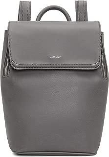 Matt & Nat Vegan Handbags, Fabi Mini Vintage Backpack, Shadow - 100% Animal & Cruelty Free, Full 1 Year Warranty, 100% Recycled Linings, Eco-Friendly