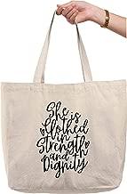 strength in cursive