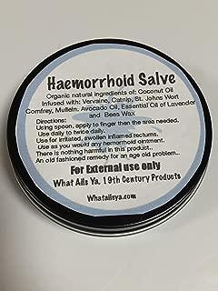 "Hemorrhoid Salve 2 oz No Artificial Additives,"" What Ails Ya"", Unisex"