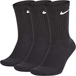 Nike Men's U Nk Everyday Cush Crew 3pr Socks