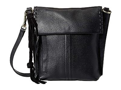 Vince Camuto Caol Crossbody (Black) Cross Body Handbags