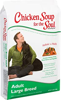 Chicken Soup for the Soul Large Breed Adult Dog Food- Chicken, Turkey & Brown Rice Recipe, Dry Dog Food