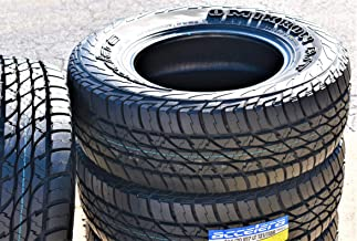 Set of 4 (FOUR) Accelera Omikron A/T All-Terrain Radial Tires-285/70R17 121/118R LRE 10-Ply