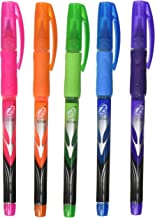 Bic RollerGlide Fine Point Deco Neon Pens, Assorted Colors 5 ea