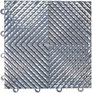"IncStores Vented Nitro Garage Tiles 12""x12"" Interlocking Garage Flooring.."