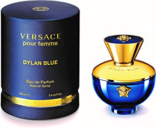 Versace Pour Femme Dylan Blue by Versace for Women - Eau de Parfum, 100ml
