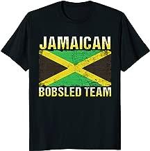 Jamaican Bobsled Team T Shirt / Jamaica Flag Tshirt