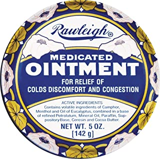 Medicated Ointment Cream - 5 oz Paste - by WT Rawleigh (5 oz)