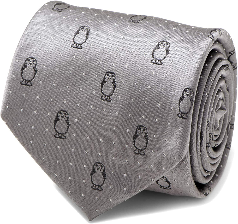 Porg Super Milwaukee Mall intense SALE Dot Gray Tie Men's