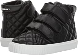 Quilted Leather High Top Trainers (Toddler/Little Kid)