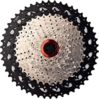 CYSKY 12 Speed Cassette 12Speed 11-50 Cassette Fit for Mountain Bike, Road Bicycle, MTB, BMX, Sram Sunrace Shimano ultegra xt (Light Weight)