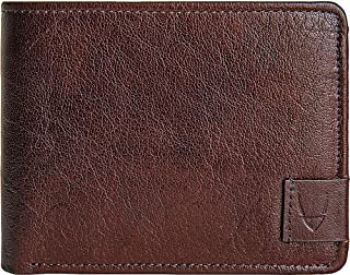 HIDESIGN Men Vespucci Rfid Buffalo Leather Trifold Wallet, Brown