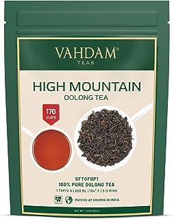 High Mountain Oolong Teeblätter aus dem Himalaya 150 Tassen, 100% NATÜRLICH, Hand gepflückt auf den hochgelegenen Darjeeling Plantagen, oolong tee lose zum Abnehmen,VAKUUMVERPACKT, 340gm