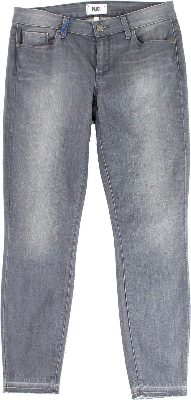 PAIGE Wash Women's 24X30 Stretch Verdugo Ankle Jeans