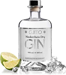 GJITO Niederrhein Dry Gin - Premium Made in Germany - Original London Dry Gin - Manufaktur am Niederrhein 0,5 L / 44% VOL - Zitrus Note