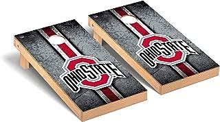 Victory Tailgate Regulation Collegiate NCAA Vintage Series Cornhole Board Set - 2 Boards, 8 Bags - 600+ Teams Available