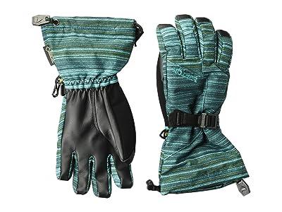 Burton Kids Gore-Tex(r) Gloves (Little Kids/Big Kids) (Tahoe Sunset Stripe) Snowboard Gloves