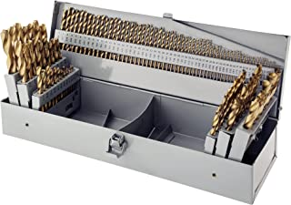 Steelex Plus D1138 115 Piece HSS Tin Drill Bit Set in Index