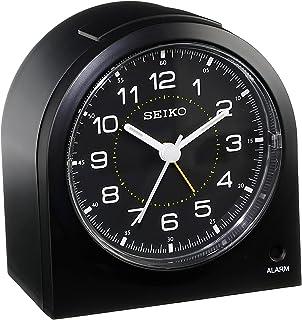 "Seiko 3"" Compact & Lightweight Bedside Alarm Clock (QHE085KLH)"