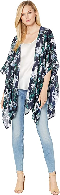57b5725c41 Collection xiix printed flutter kimono, Women | Shipped Free at Zappos
