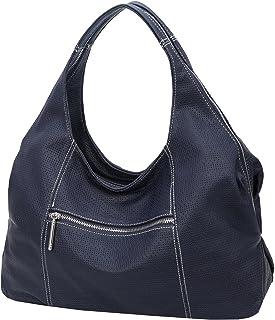 Heshe Womens PU Leather Top Handle Handbags Totes Bag Shoulder Bags Hollow Fashion Ladies Purse