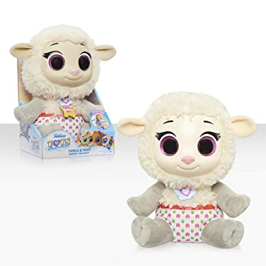 Disney Jr T.O.T.S. Tickle & Toot Baby Sheera the Sheep , 10-inch feature plush