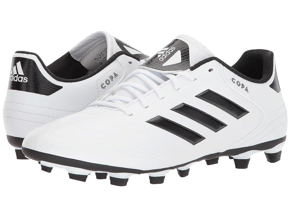adidas Copa 18.4 FG (White/Black/Tactile Gold) Men