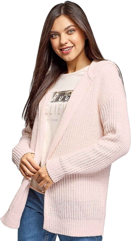 oodji Ultra Women's Knit Hooded Cardigan