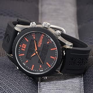 Superdry Tokyo Anadigi Digital Black Dial Men's Watch-SYG206BB
