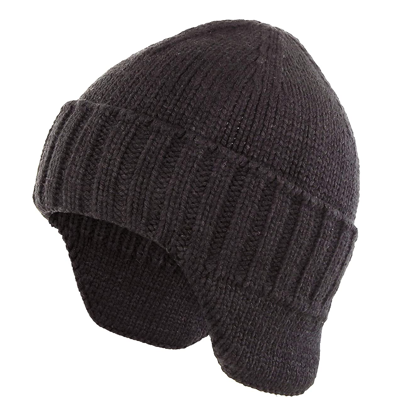 8eea8063699eb9 ... Home Prefer Mens Winter Hat Knit Earflap Hat Stocking Caps with Ears  Warm Hat
