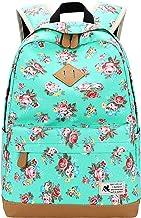 CVBGH Canvas Rugzak Vrouwelijke Bloemen Student Schooltas 14 Inch Laptop Rugzak