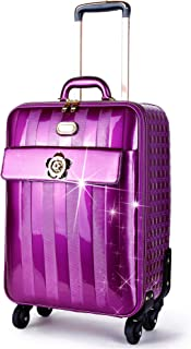 Brangio Italy   Floral Accent Light Weight Spinner Luggage