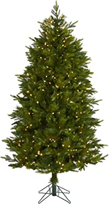 6ft. Hartford Fir Artificial Christmas Tree with 250 Warm (Multifunction) LED Lights with Instant Connect Technology