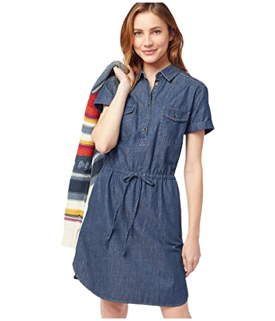 Pendleton Stitchline Chambray Dress (Medium Denim) Women