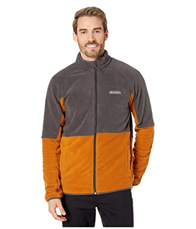Columbia Basin Trailtm Fleece Full Zip Jacket (Burnished Amber/Shark) Men