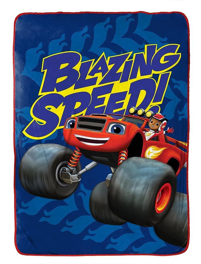 Nickelodeon Blaze Fast Track Fleece 62