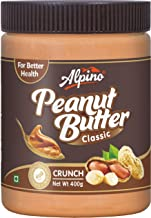 Alpino Classic Peanut Butter Crunch 400 G (Gluten Free / Non-GMO / Vegan)