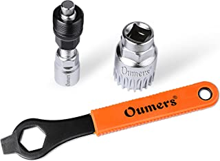 Oumers Bike Crank Extractor/Arm Remover and Bottom Bracket Remover with 16mm..
