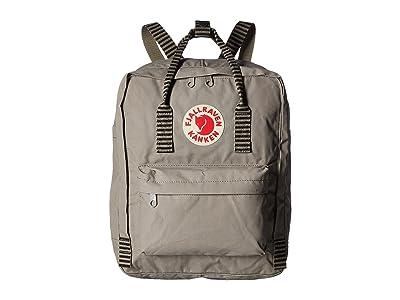 Fjallraven Kanken (Fog/Striped) Backpack Bags